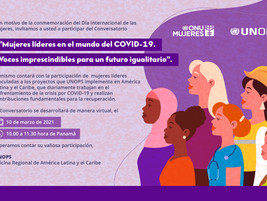 Mujeres líderes en el mundo del  COVID