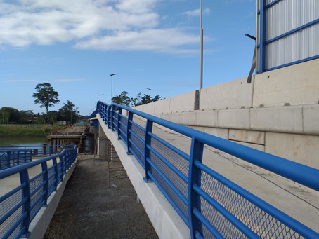 Puente binacional Sixaola en recta final