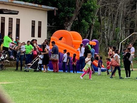Una navidad solidaria con niños y niñas vecinas al Puente sobre el río Virilla