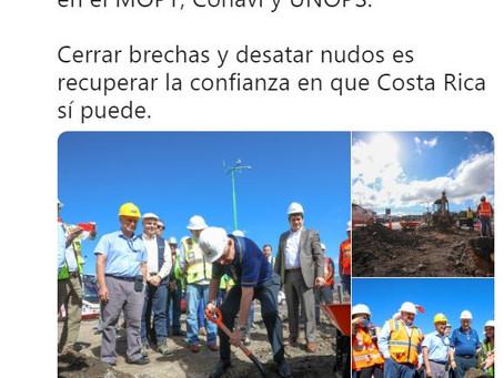 Twitter del Presidente de la República de Costa Rica