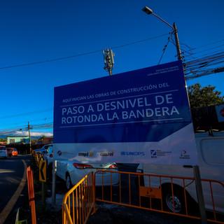 Inicio de Obras Rotonda La Bandera_Expla
