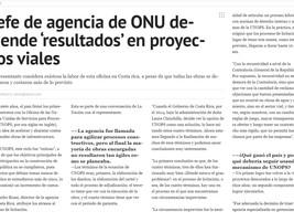 Alejandro Rossi considera exitosa labor de UNOPS en Costa Rica