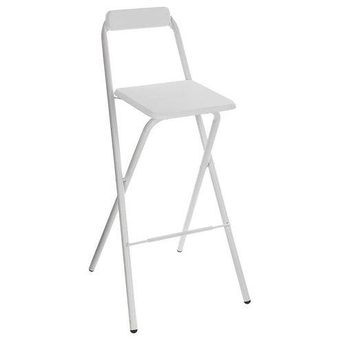 Chaise haute pliante blanche