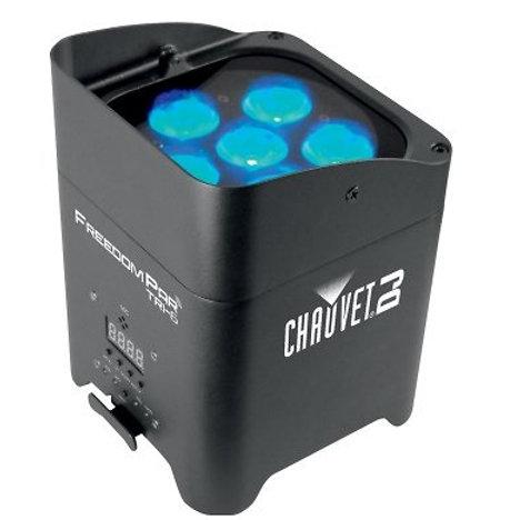 Par LED sur Batterie