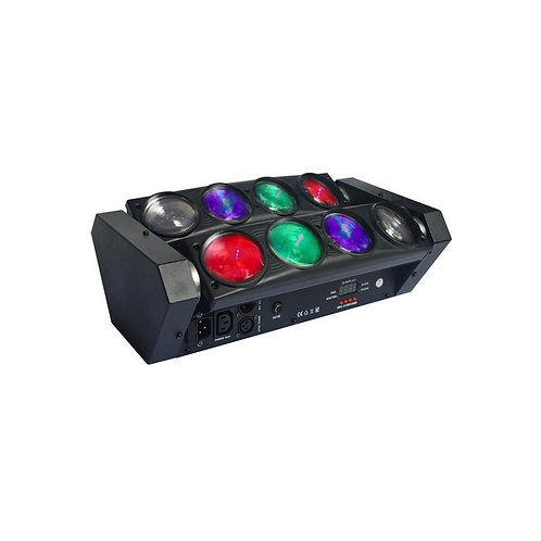 LED Spider Beam - 8 faisceaux