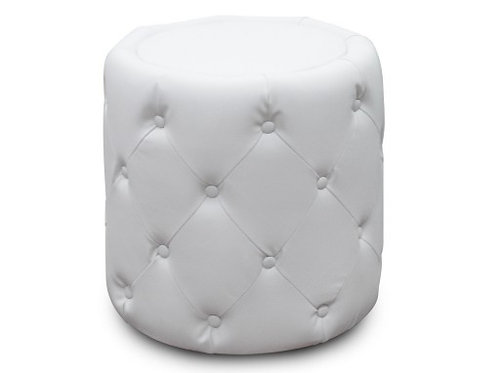 Pouf CHESTERFIELD rond