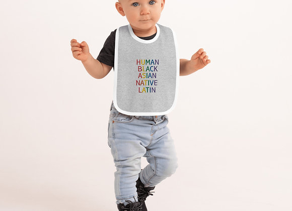 Human Pride Baby Bib