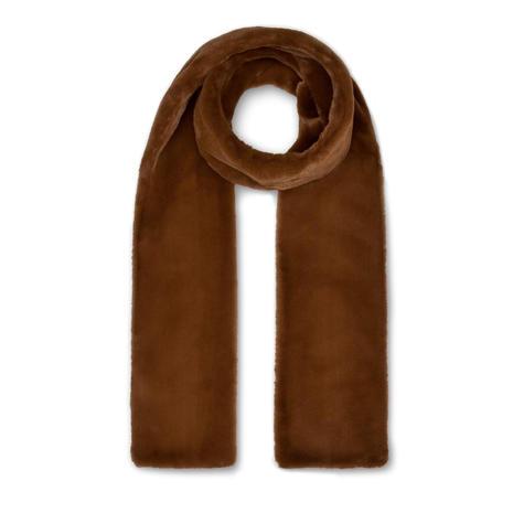 Nookie toffee fake fur scarf, £35