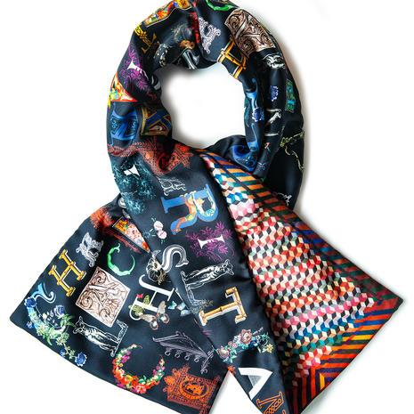 Christian Lacroix scarf, £175