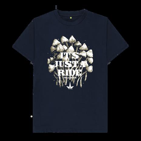 THTC Clothing 'JUST A RIDE' Bill Hicks Organic T-Shir