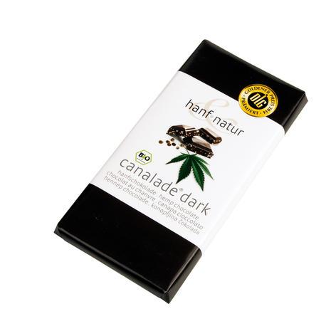 Hemp Dark Chocolate Canalade 100g - Hanf Natur