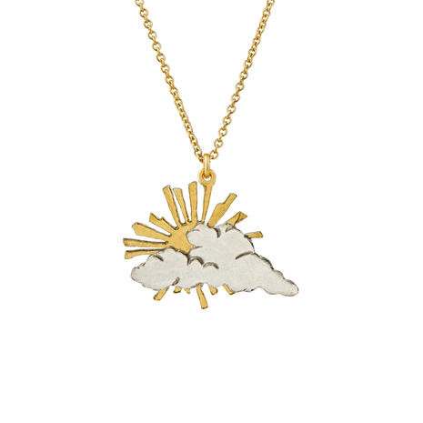 Alex Monroe rays of hope necklace, £125