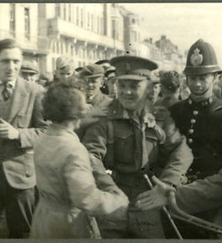 Liberation day Guernsey 1945