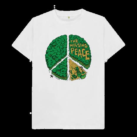 THTC - Missing Peace Redux Organic Cotton T Shirt