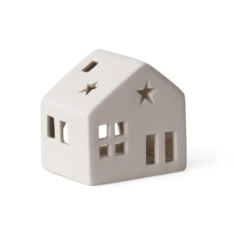 Castleton Ceramic House Tealight Holder