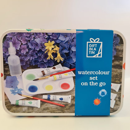 Watercolour Set on the Go in a Tin