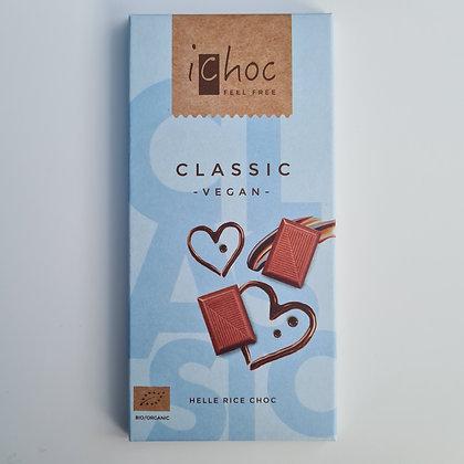 iChoc Classic Vegan Chocolate Bar 80g