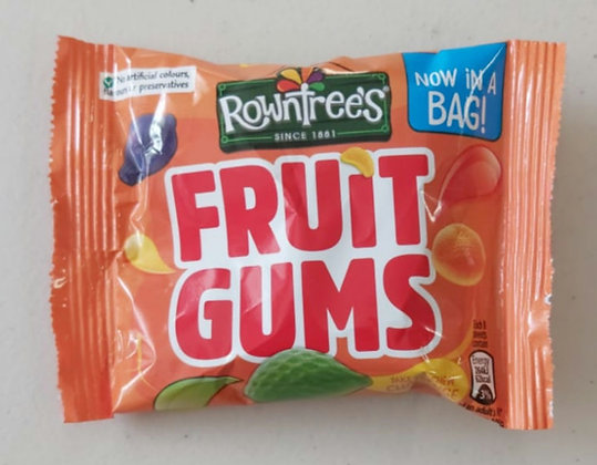 Rountree's Fruit Gums 43.5g