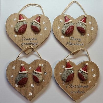 Robin Heart Hanger