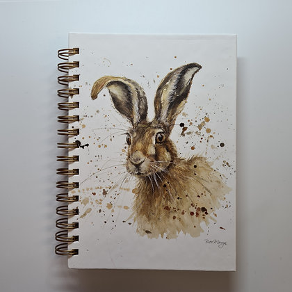 A6 Hare Notebook