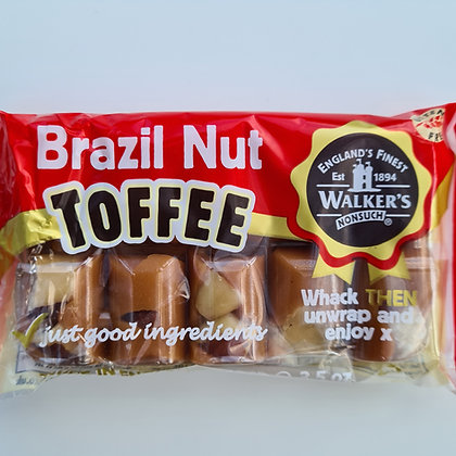 Brazil Nut Toffee Bar 100g