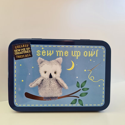 Sew Me Up Owl in a Tin
