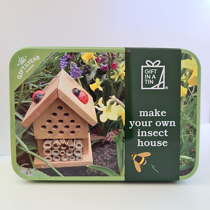 Make Your Own Insect House Craft Kit in a Tin