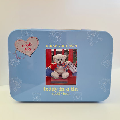 Teddy in a Tin Simple Sewing Kit