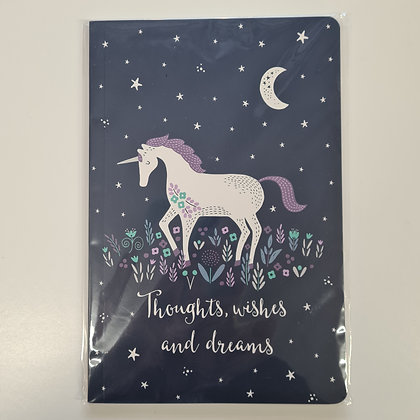 A5 Unicorn Notebook