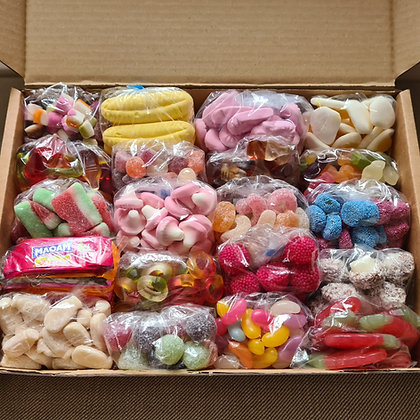 Large Retro Sweet Box