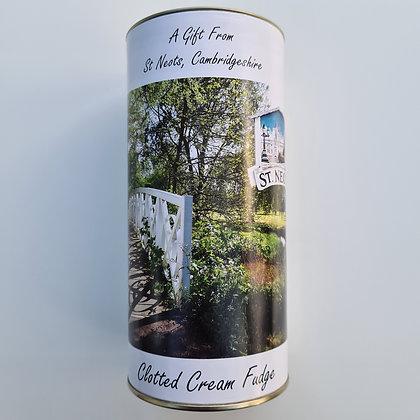 Clotted Cream Fudge Tin 200g
