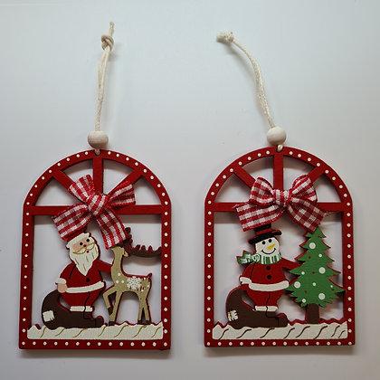 Wooden Christmas Hangers