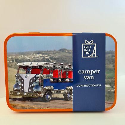 Camper Van Construction Kit in a Tin