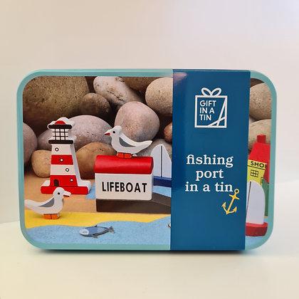 Fishing Port in a Tin