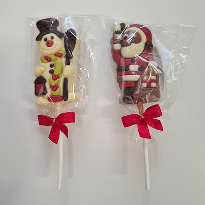 Chocolate Character Lolly 35g