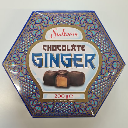 Sultan's Chocolate Ginger 200g
