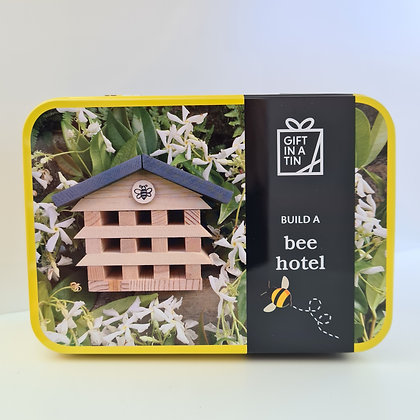 Build a Bee Hotel in a Tin