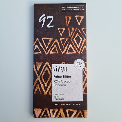 Vivani Feine Bitter Chocolate Bar 80g