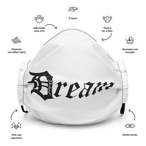 "Premium Detroit ""Dream"" Face Mask"