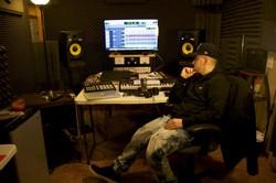 Jolo in Astray's studio
