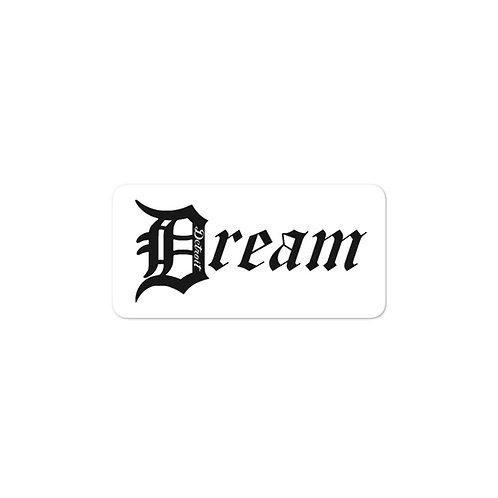 "Official Detroit ""Dream"" Bubble-free stickers"