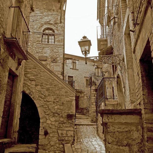 Riqualificazione e recupero del centro storico Campo di Giove (AQ)