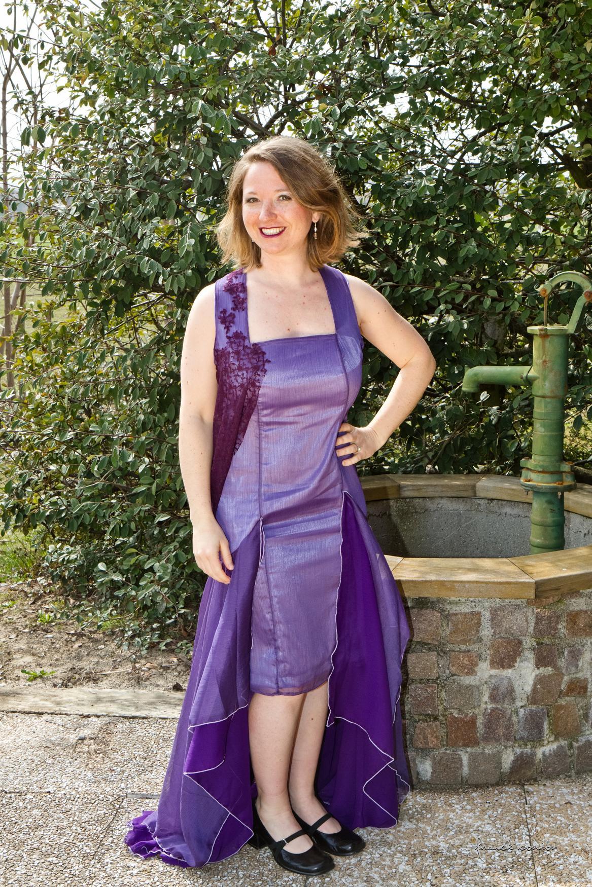 Violette - Pièce Unique