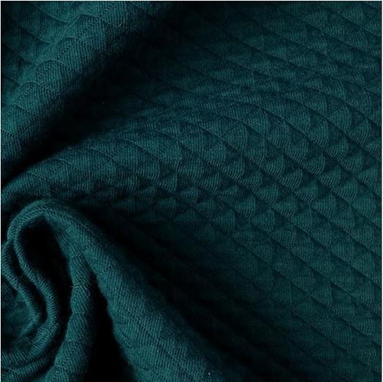 Fil Etik - Matelassé Bio Bleu-Vert Canard