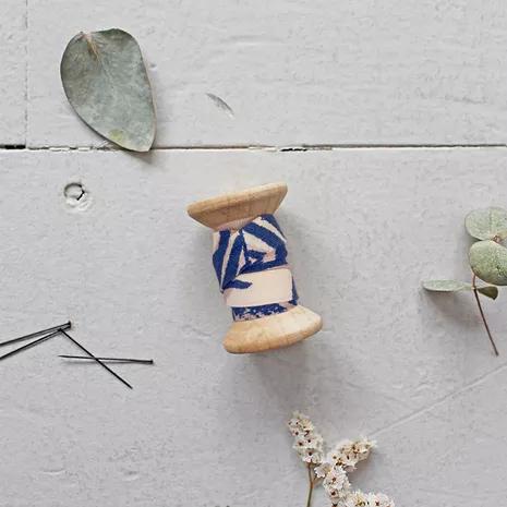 Atelier Brunette - Biais Canopy Cobalt