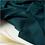 Thumbnail: Fil Etik - Matelassé Bio Bleu-Vert Canard