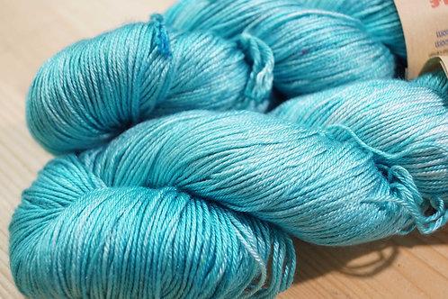 Une Maille à la Fois - Pure Soie turquoise