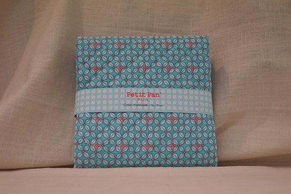 Petit Pan - Coupon Matelassé Bleu