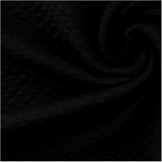 Fil Etik - Matelassé Bio Noir Profond