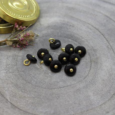 Atelier Brunette - Bouton Black Jewel